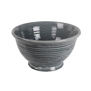 Privilege Grey Large Ceramic Bowl