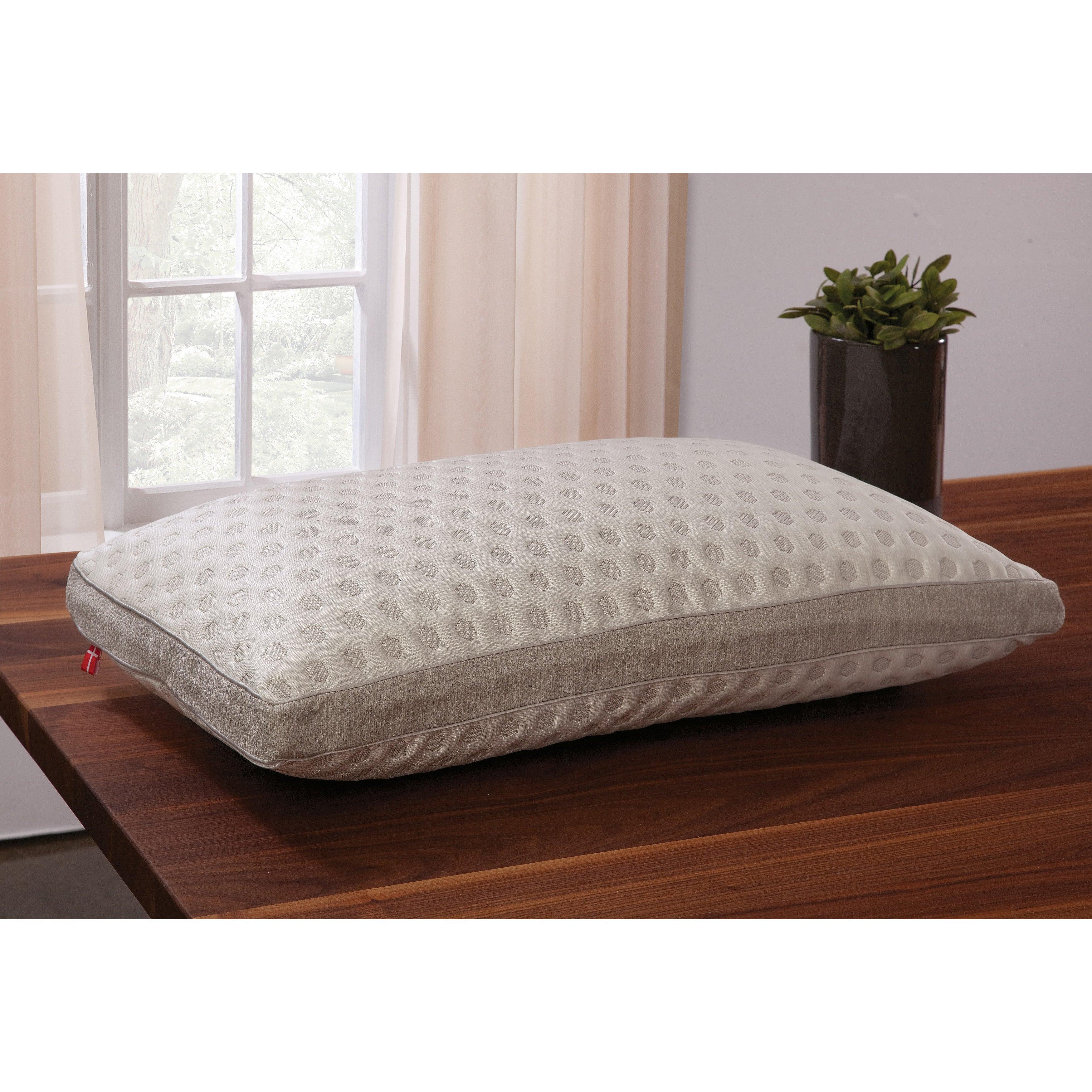 Danican Cool Pointe Teneritas Pillow (Queen), White