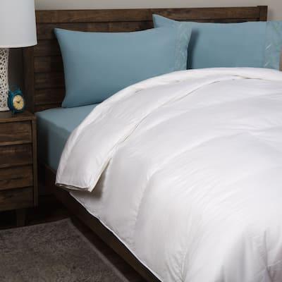 Supreme Down-Alternative Comforter 330 Thread Count Cotton by Grandeur Collection