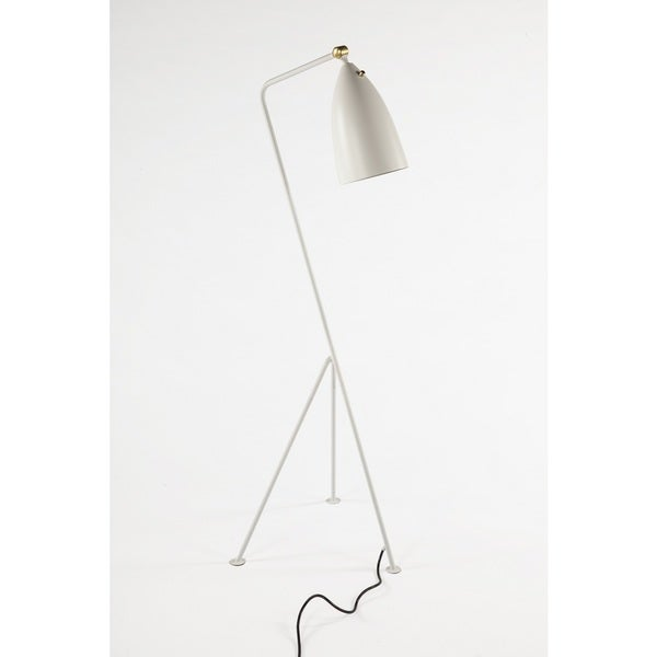 Hans Andersen Home Grasshopper White Floor Lamp