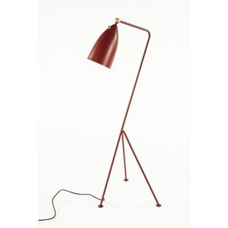 Hans Andersen Home Grasshopper Red Floor Lamp