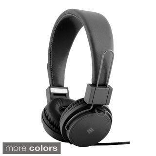 Polaroid PHP8500 Neon Foldable Tangle-Proof Headphones with Mic