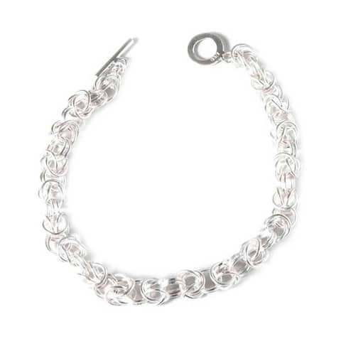 Handmade Silver 'Sweet Union' Bracelet (Peru)