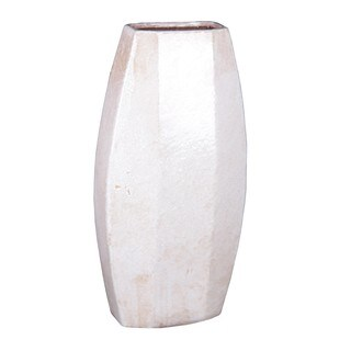 Privilege White Large Vase