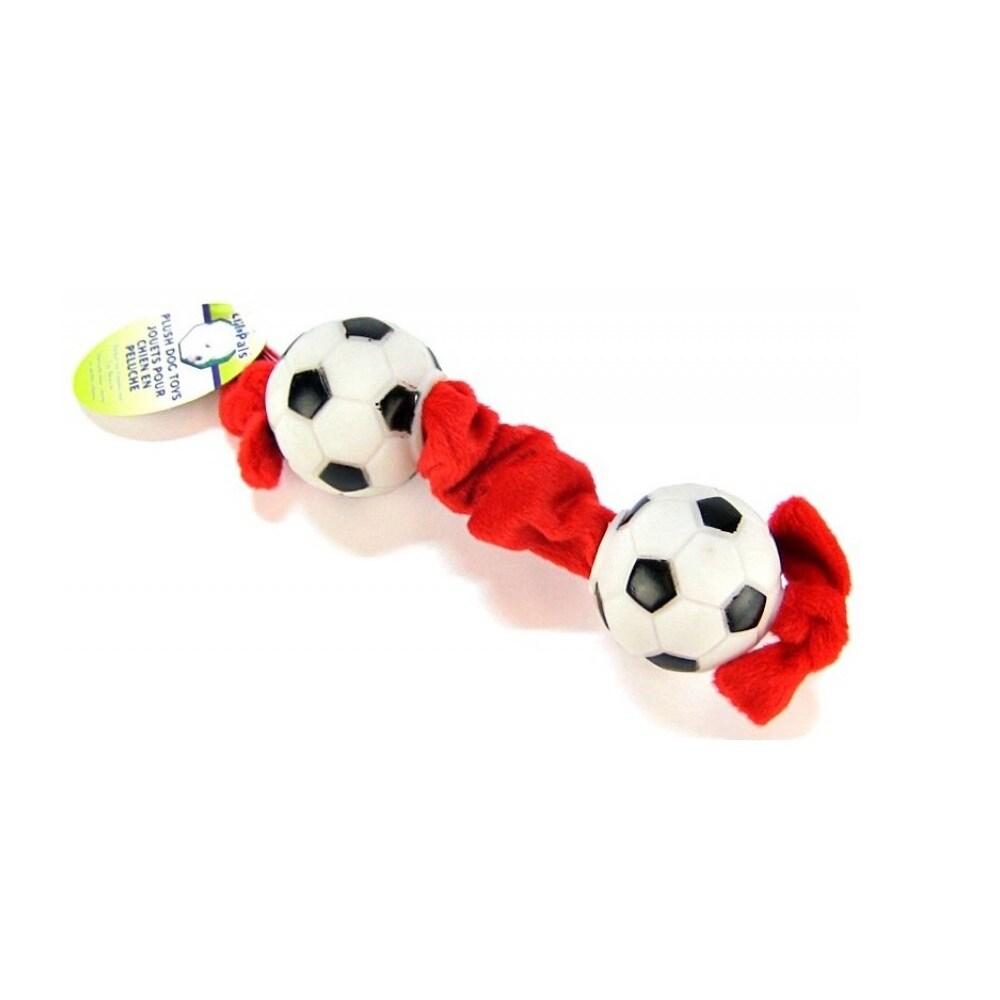 Coastal Pet Li'l Pals Soccer Ball Tug Toy (Coastal - Socc...