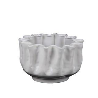 Privilege Whte Large Ceramic Pot