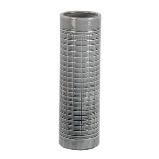 Privilege Grey Large Ceramic Vase