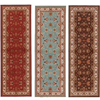 Ottomanson Prestige Collection Red Traditional Persian All-Over Patern Design Area Rug (1'8 x 4'11)