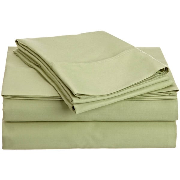 400 Thread Count 100-percent Egyptian Cotton Solid Sheet Set 400 Thread Count