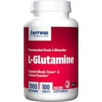 Jarrow Formulas L-Glutamine 1000 mg (100 Tablets)