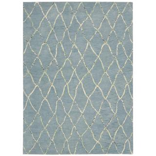 Barclay Butera Intermix Wave Area Rug by Nourison (5'3 x 7'5)