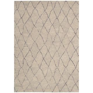 Barclay Butera Intermix Driftwood Area Rug by Nourison (3'6 x 5'6)