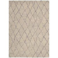 Barclay Butera Intermix Driftwood Area Rug by Nourison - 7'9 x 10'10