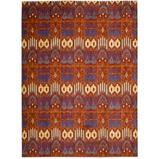 Barclay Butera Moroccan Crimson Area Rug by Nourison (7'3 x 9'9)