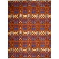 Barclay Butera Moroccan Crimson Area Rug by Nourison - 7'3 x 9'9