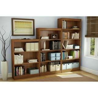 south shore morgan cherry axess 4shelf bookcase