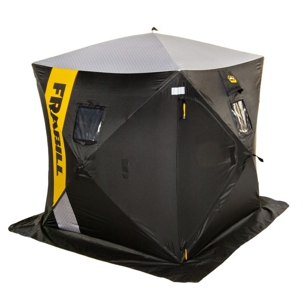 Frabill Hq 100 Hub 2 3 Man Shelter Free Shipping Today