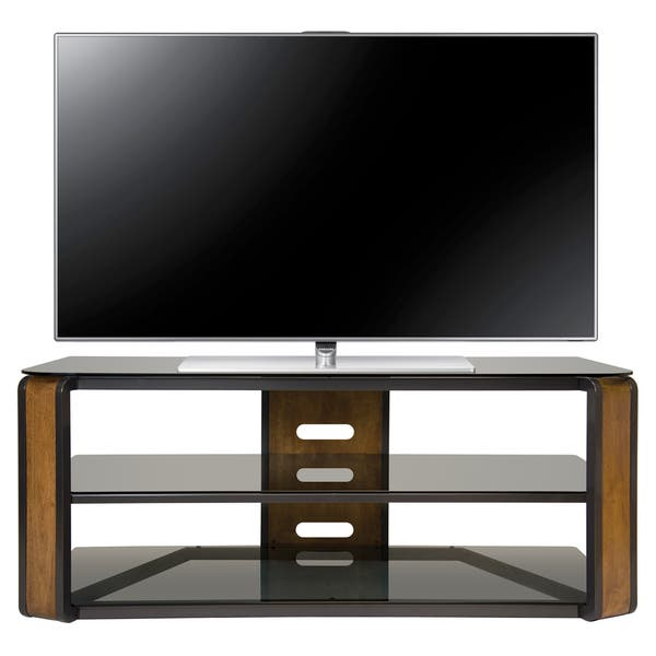 Bell O Avsc2131 55 Inch Natural Finished Tv Stand For Tvs Up To 60 Inches Overstock 10191249