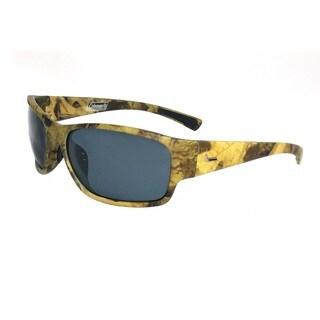 Predator-Green Camouflage Full Frame w/Smoke Lens Sunglasses