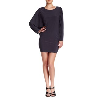 Women's Fashion Dolman Sleeve Short Fitted Dress- (More options available)