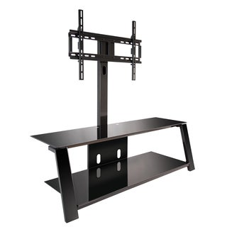 Bell'O TP4452 Triple Play 52-inch Black TV Stand for TVs up to 60 inches