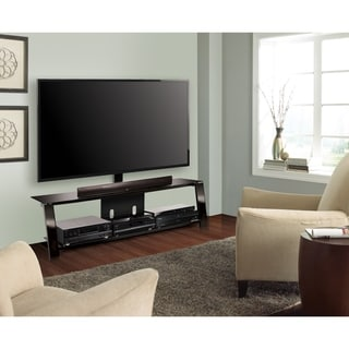 Bell'O TP4463 Triple Play 63-inch Black TV Stand for TVs up to 70 inches