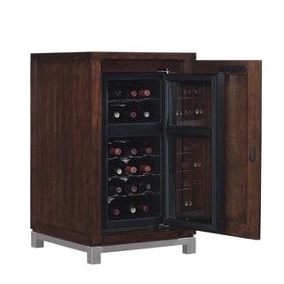 Wesleyan Meridian Cherry Right Wine Cabinet