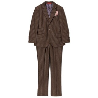 Boys' Wool Blend Pinstripe 2-piece Suit (4 options available)