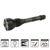 Greatlite Tactical 700 Lumen Rechargeable LED Flashlight