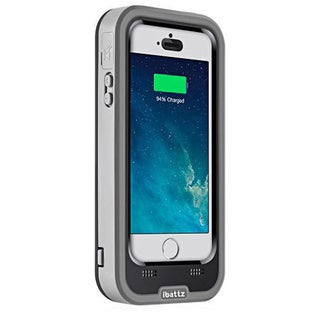iBattz Mojo Refuel Alpha Black/ Grey Battery Case for Apple iPhone 5/ 5S