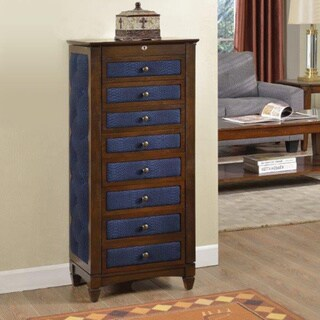 8-drawer Jewelry Armoire with Cushions