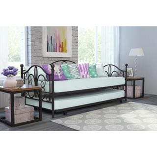 DHP Bombay Metal Daybed and Trundle