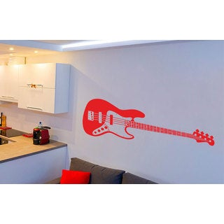 Guitar Inspirational Vinyl Sticker Wall Art