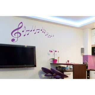 Music Notes Clefs Inspirational Vinyl Sticker Wall Art