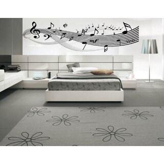 Music Notes Clefs Inspirational Vinyl Sticker Wall Art