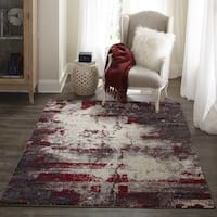 "Momeni Loft Machine Made Polypropylene Grey Area Rug - 9'3"" x 12'6"""