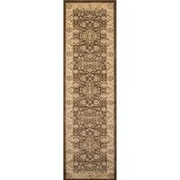 Momeni Ziegler Brown Runner Rug - 2'3 x 7'6