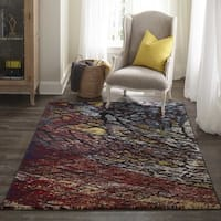 "Momeni Loft Machine Made Polypropylene Multi Area Rug - 5'3"" x 7'6"""