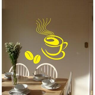 Coffee Kitchen Vinyl Sticker Wall Art