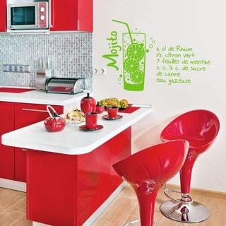 Mojito Kitchen Vinyl Sticker Wall Art