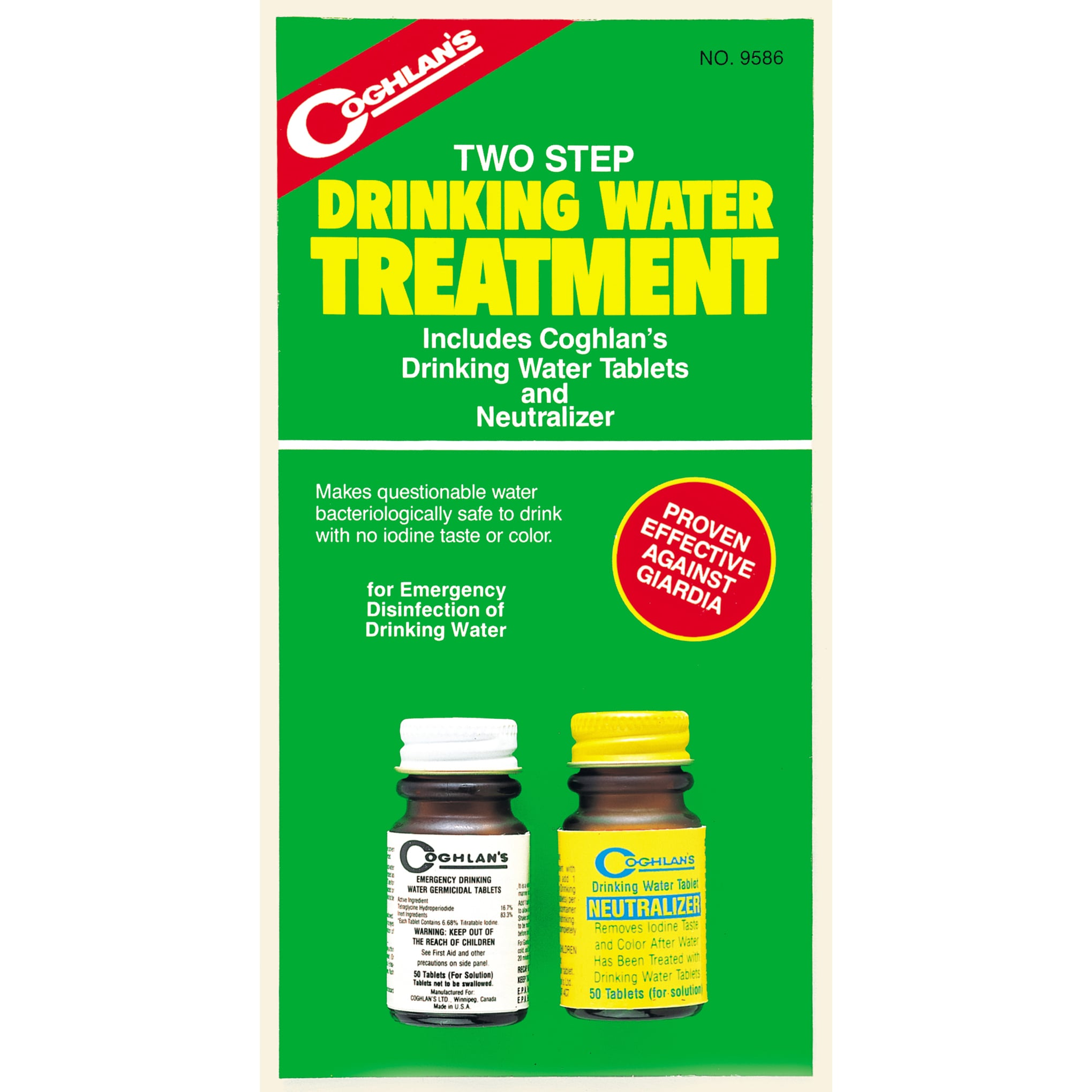 Coghlans Drinking Water Treatment (Germicidal Tablets)