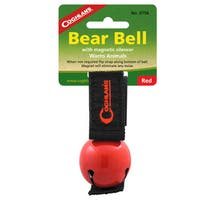 Coghlans Bear Bell Magnetic Red