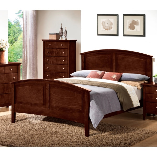 LYKE Home Whitney Brown Bed Frame