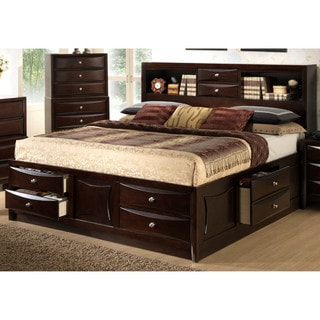 storage bed shop the best brands today overstockcom - King Size Bed Frame With Drawers