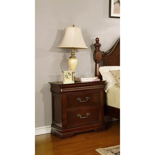 LYKE Home Ceara Two Drawer Nightstand