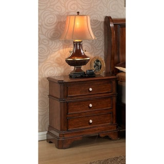 LYKE Home Bayer 3-drawer Nightstand