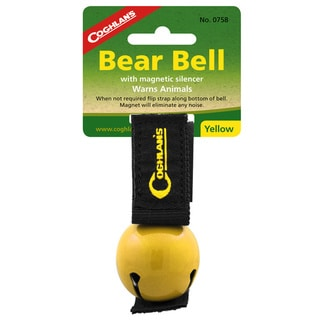 Coghlans Bear Bell Magnetic Yellow