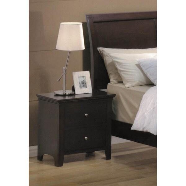 LYKE Home Mona 2-drawer Night Stand