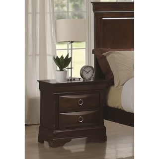 LYKE Home Lexa 2-drawer Night Stand