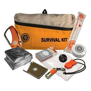 Ultimate Survival Technologies FeatherLite Survival Kit Orange 2.0